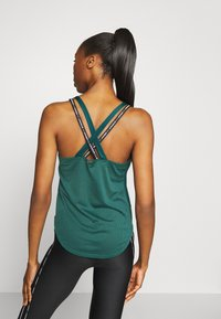 Under Armour - SPORT X BACK TANK - Funkční triko - saxon green - 2
