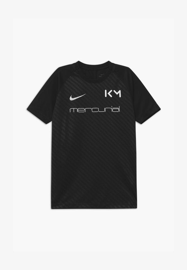 KYLIAN MBAPPE - T-shirt imprimé - black/white