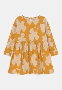 Lindex - MINI DRESS LOOSE FIT - Jersey dress - dark dusty yellow - 0