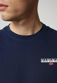 Napapijri - S-ICE SS - T-shirt med print - medieval blue - 2
