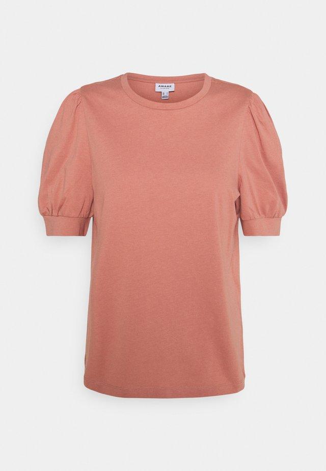 VMKERRY O NECK  - T-shirts med print - old rose