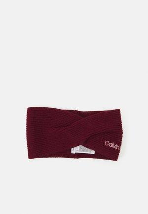 ESSENTIAL HEADBAND - Ear warmers - red currant