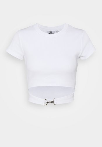BLOSSOM - T-shirts med print - white