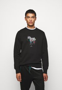 PS Paul Smith - COLORED ZEBRA  - Sweatshirt - black - 0