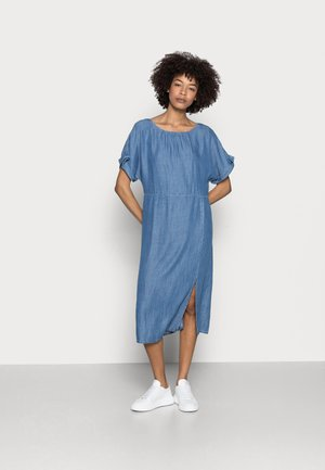 DRESS - Dongerikjole - blue medium wash
