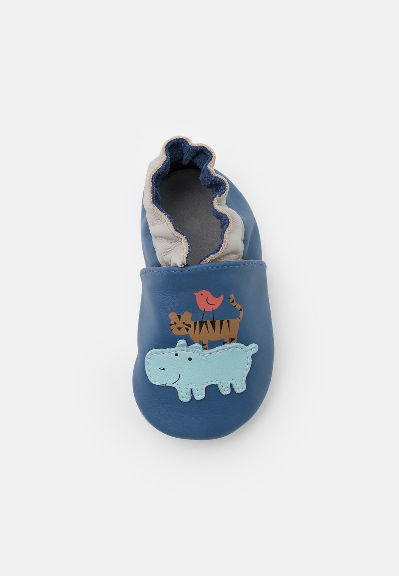 Robeez - ANIMAL PYRAMID - First shoes - bleu fonce
