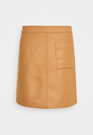 A-line skirt - true camel