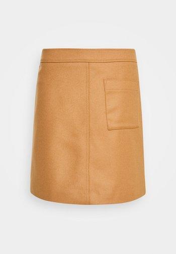 A-line skirt - true camel