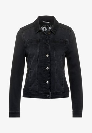 Denim jacket - schwarz