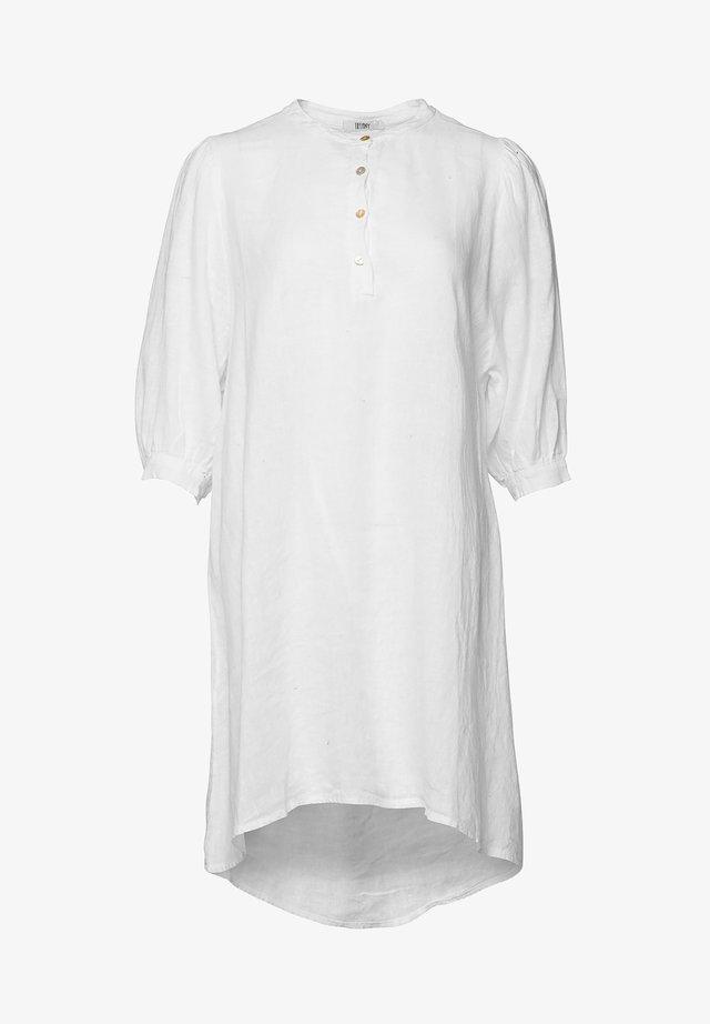 EBBI - Korte jurk - white