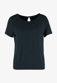 Opus - SIEKE - Print T-shirt - simply blue - 3