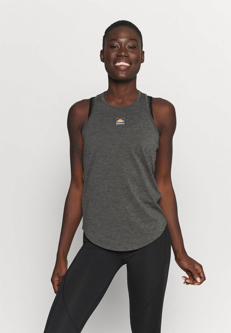 Ellesse - SHARLA - Sports shirt - dark grey marl