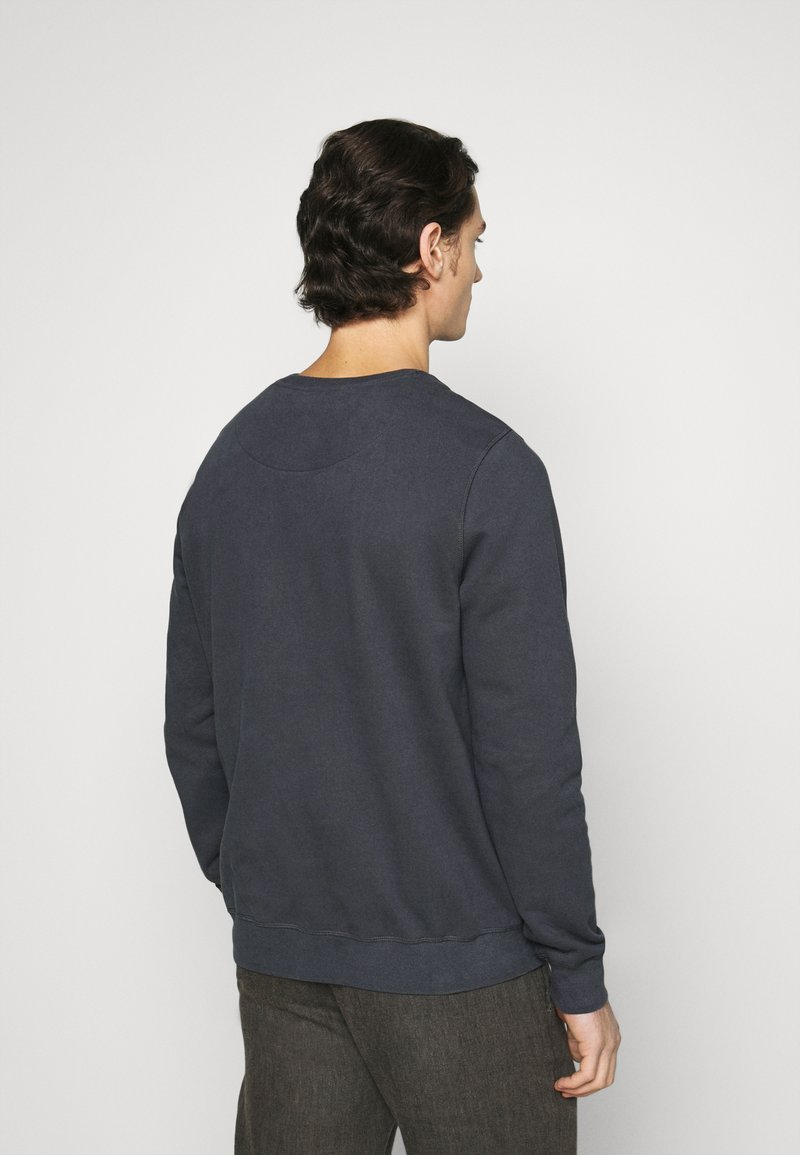 Ecoalf SAN DIEGO PATCHLABEL - Sweatshirt - caviar/schwarz oiID6H