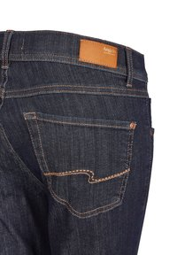 Angels - MIT MODISCHEM CRINKLE-EFFEKT - Slim fit jeans - dunkelblau - 3