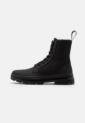 COMBS II UNISEX - Lace-up ankle boots - black ajax