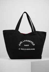KARL LAGERFELD - RUE ST GUILLAUME TOTE - Shopping bags - black - 0