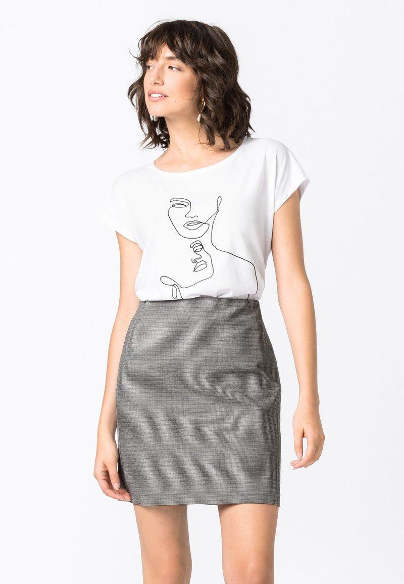 HALLHUBER - Pencil skirt - schwarz