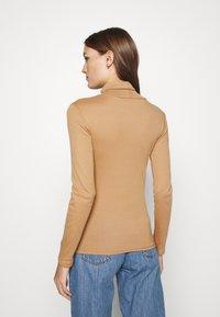 Dorothy Perkins - ROLL NECK 2 PACK  - Long sleeved top - black/camel - 2