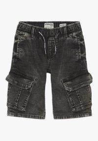 Vingino - CELDO - Denim shorts - dark grey vintage - 0