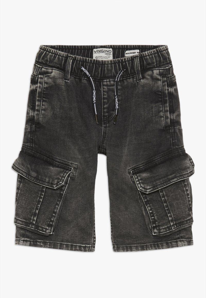 Vingino - CELDO - Denim shorts - dark grey vintage