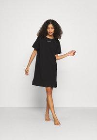 Calvin Klein Underwear - NIGHTSHIRT - Nightie - black - 1