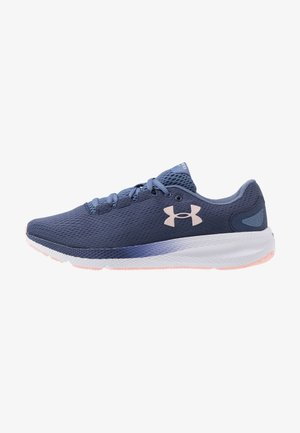 CHARGED PURSUIT 2 - Zapatillas de running neutras - blue ink/white/peach frost