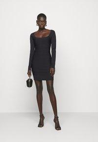 Hervé Léger - DRESS - Sukienka etui - black - 1