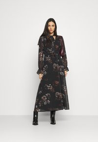 NU-IN - SLEEVE MAXI DRESS - Robe longue - black - 1