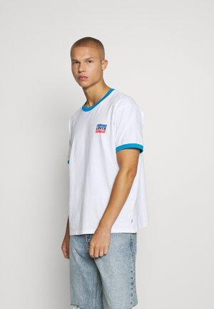 GRAPHIC TEE UNISEX - T-shirt imprimé - white