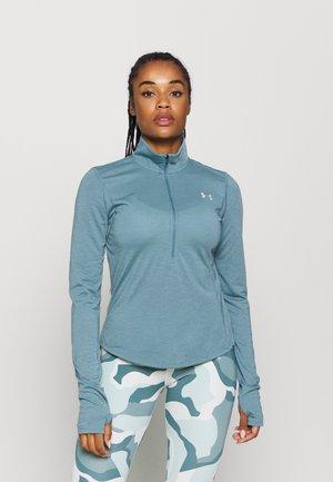 STREAKER HALF ZIP - T-shirt de sport - lichen blue
