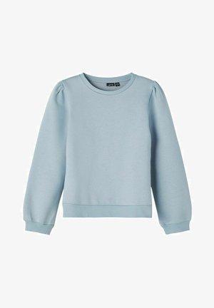 Sweater - dusty blue