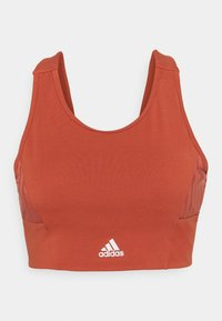 Light support sports bra - crew red