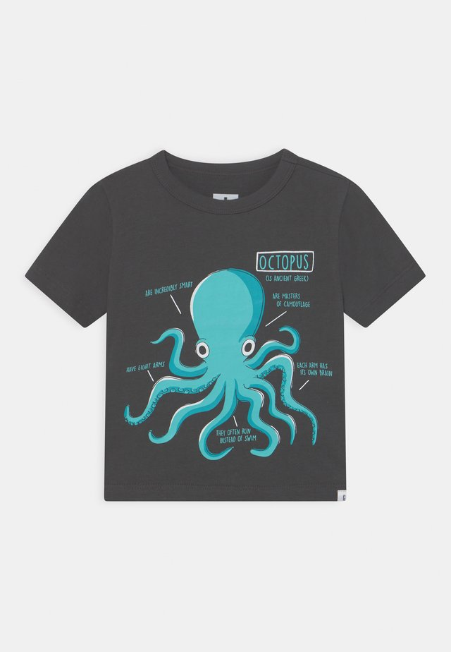 TODDLER BOY - T-shirt print - soft black