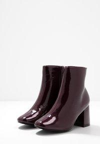 New Look Wide Fit - WIDE FIT BARISSA  - Ankelboots - dark red - 4