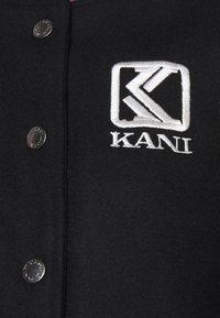 Karl Kani - COLLEGE JACKET - Bomber Jacket - black - 5
