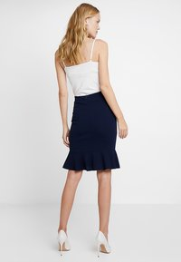 Anna Field - Pencil skirt - maritime blue - 2