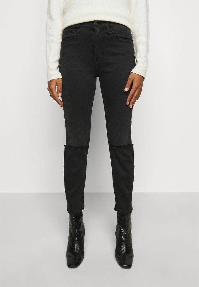 LE HIGH STRAIGHT - Jeans straight leg - maverick rips