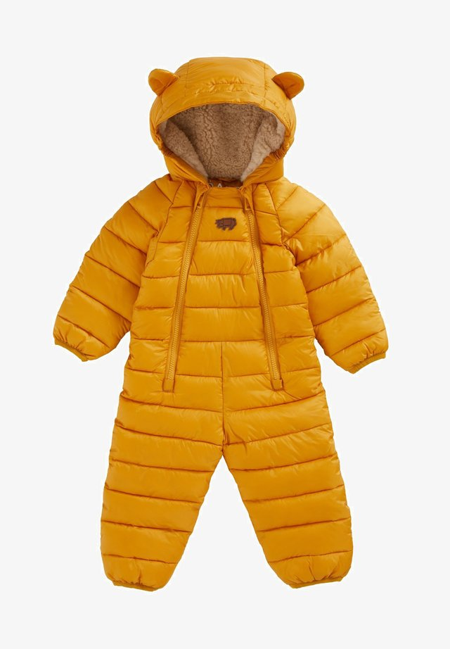 CLOUD - Snowsuit - ochre