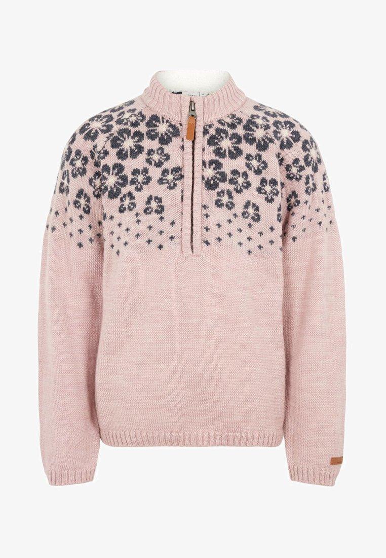 Name it - NKFWRISSA  - Stickad tröja - burnished lilac