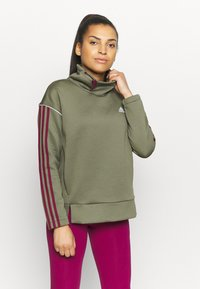 adidas Performance - Sweatshirt - olive - 0