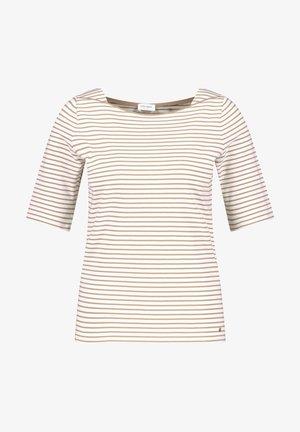 1/2 ARM - Print T-shirt - shell/ sahara