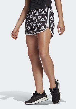 SHORTS - Pantalón corto de deporte - white/black
