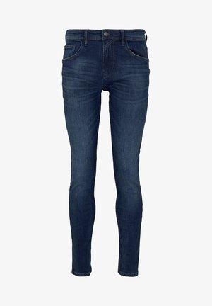 Jeans Skinny Fit - clean dark stone blue denim