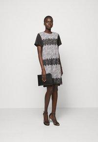 DKNY - Day dress - ivory multi/black - 1