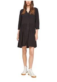 Q/S designed by - Shirt dress - black - 0