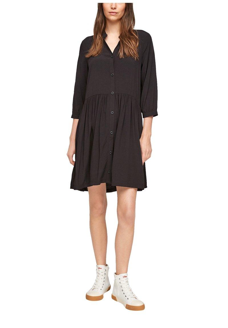Q/S designed by - Shirt dress - black