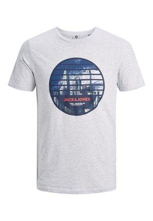 JCOIFTER  - Print T-shirt - white melange