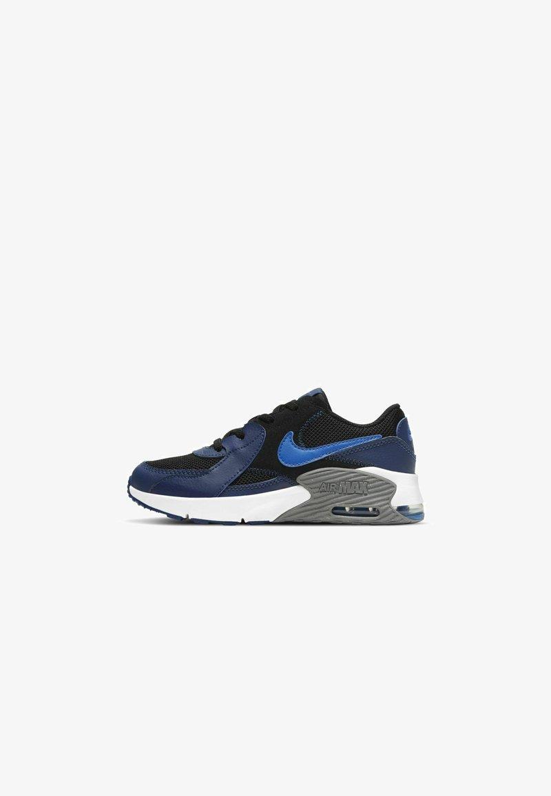 Nike Sportswear - Trainers - black/blue void/iron grey/signal blue