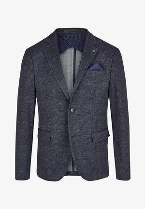 DH-XTENSION MODERN-FIT SAKKO - Blazer jacket - dunkelblau