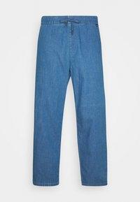 Afends - COUCH SURFER PANT - Kalhoty - washed indigo - 0